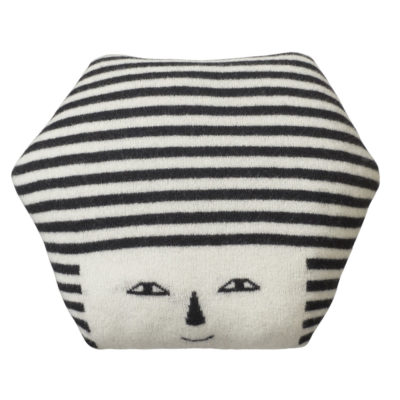 Mono Face Cushion - Donna Wilson