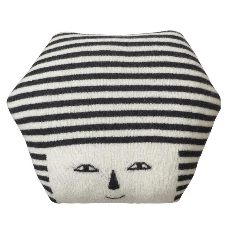 Mono Face Cushion - Donna Wilson
