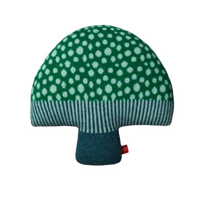 Donna Wilson Mushroom Cushion Green