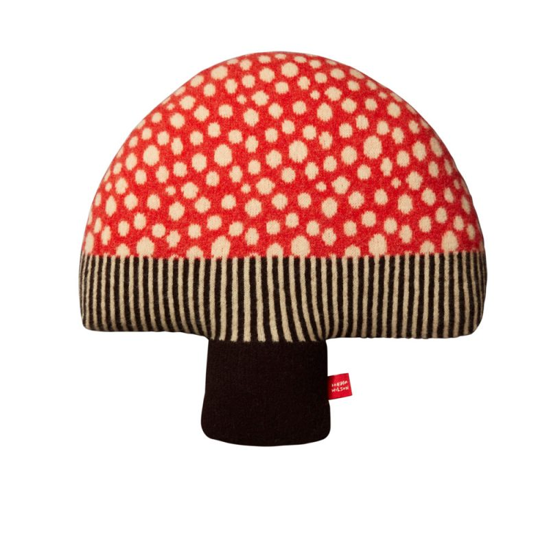 Donna Wilson Mushroom Cushion Red