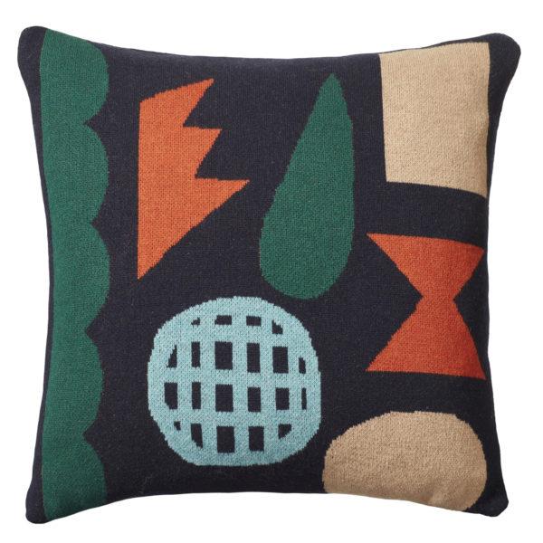 Pick 'n' Mix Cushion - Navy - Donna Wilson
