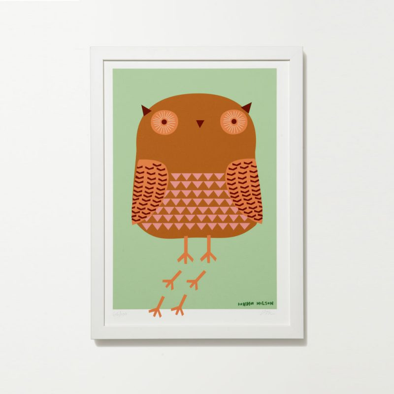 Donna Wilson - Owl Graphic Print