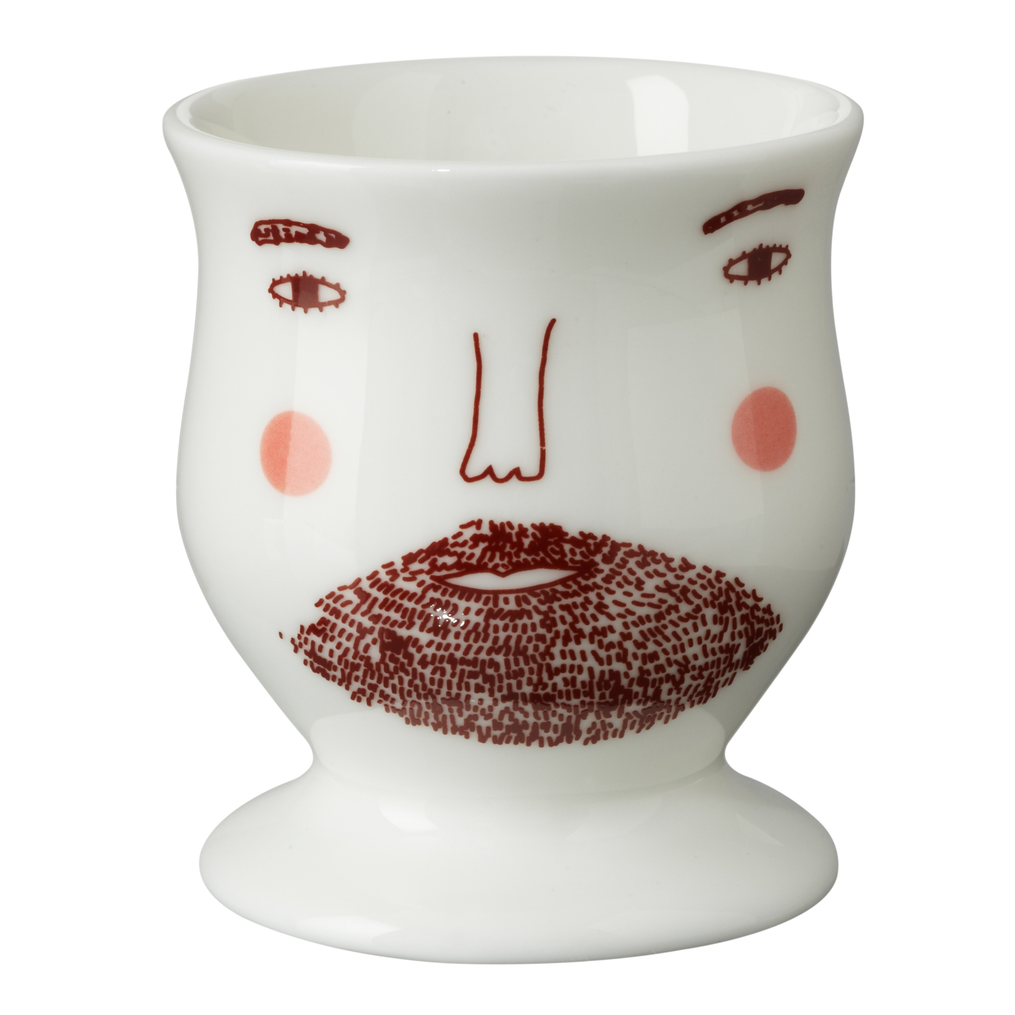Beardy Man Egg Cup By Donna Wilson 100 Bone China Made