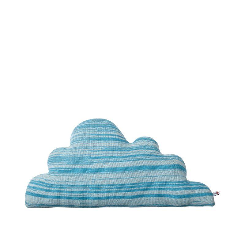 Donna Wilson - Cuddly Cloud Cushion - Medium Blue