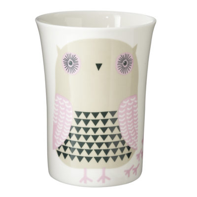Grey Owl Beaker Donna Wilson
