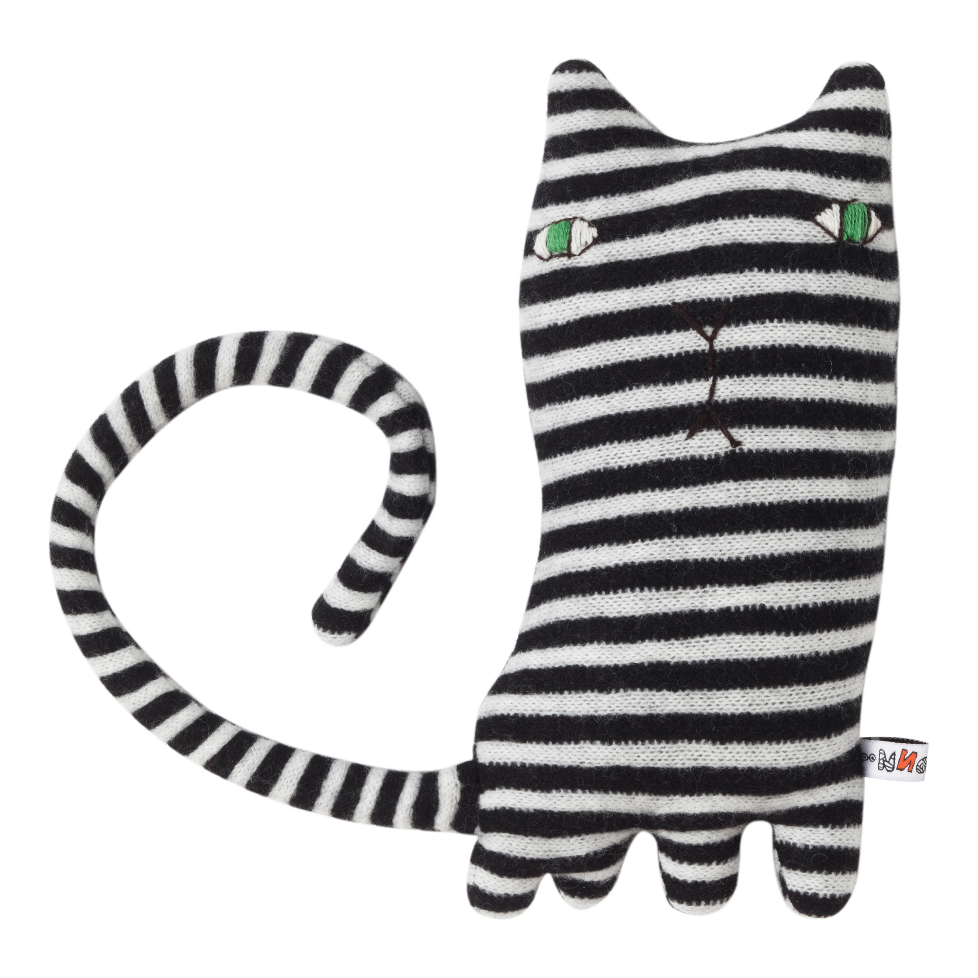 Mono Cat by Donna Wilson - 100% lambswool knitted creature, made in ...