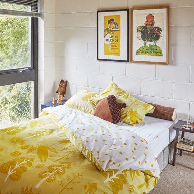 Donna Wilson Single Tree Bed Set - Yellow