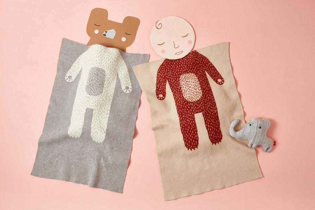 Bear Mini-blanket