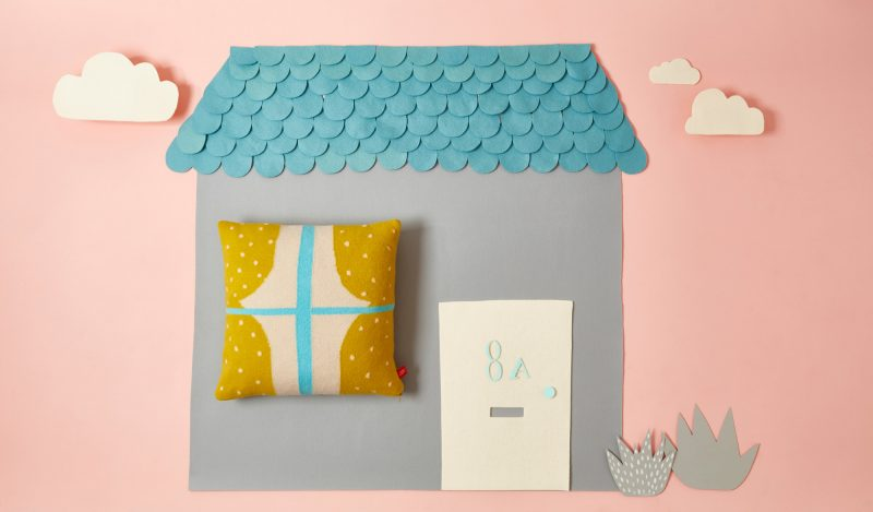 Window Cushion Mustard House