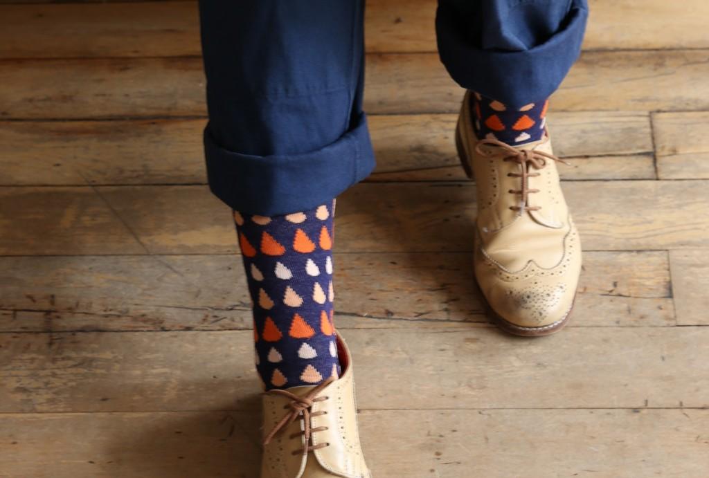 DW Raindrop Socks