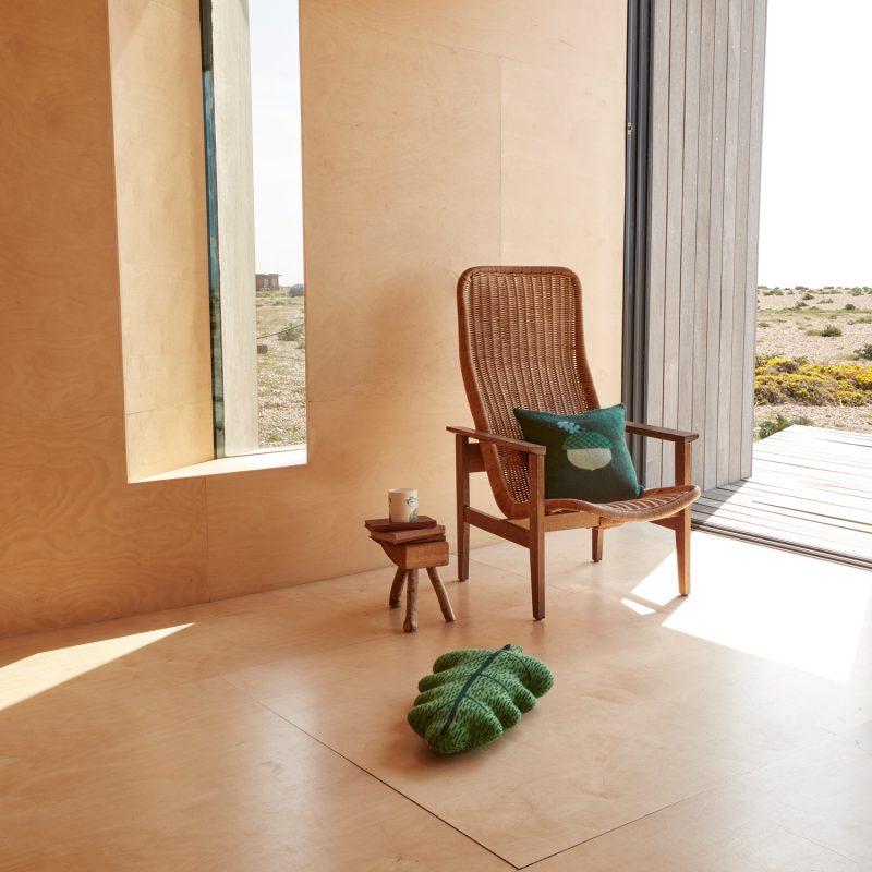 Donna Wilson - Acorn Cushion + Leaf Shaped Cushion