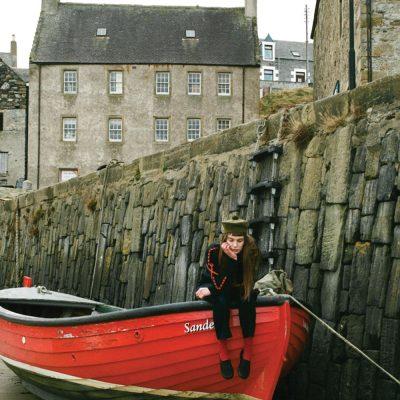 Donna Wilson - Snip Snip Sweater - Navy