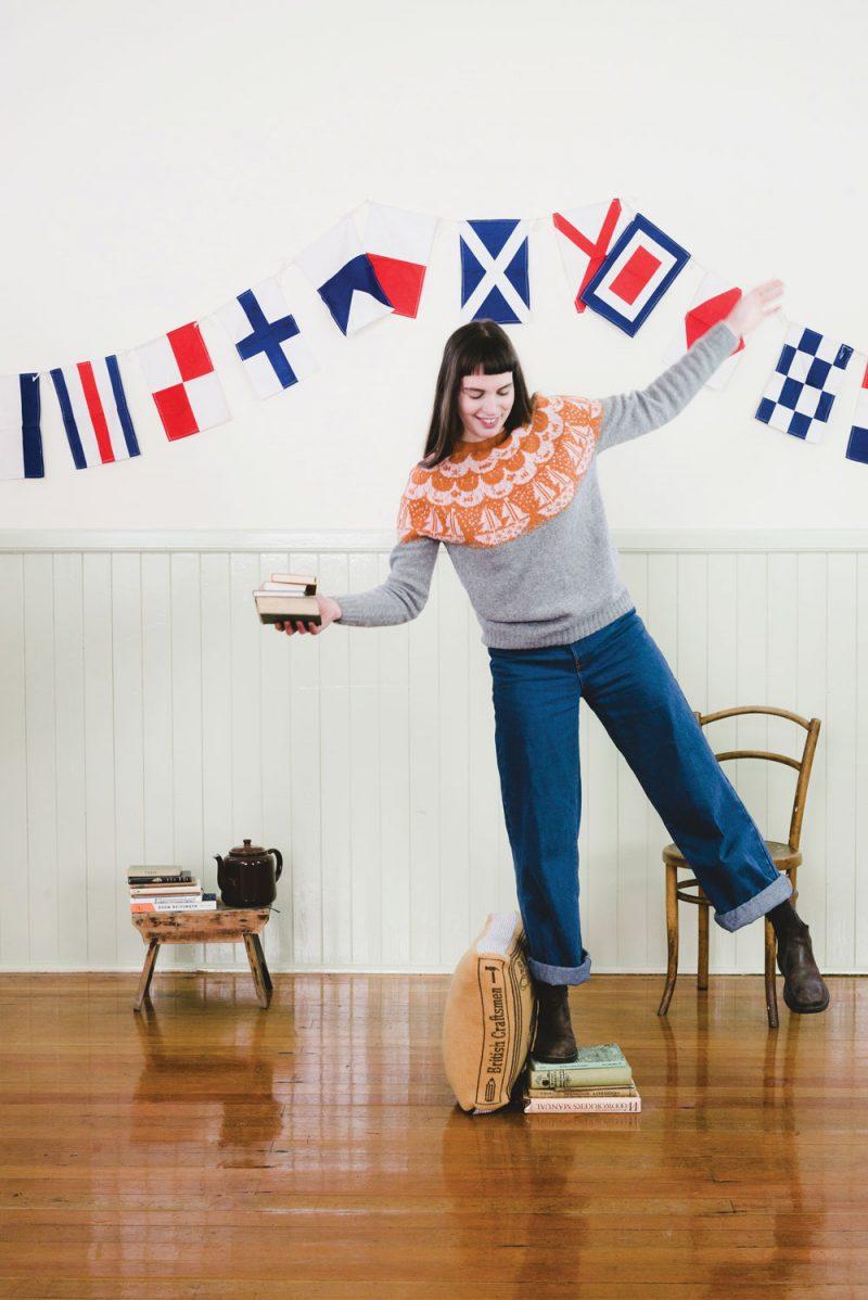 Donna Wilson - Boat Sweater - Grey