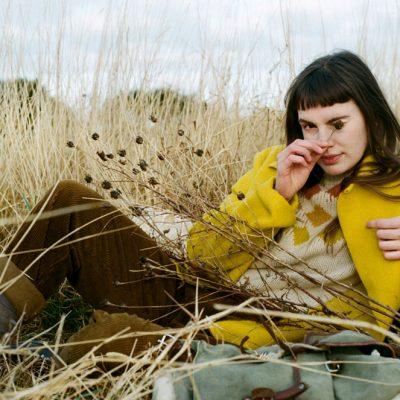 Donna Wilson - Harlequin Sweater - Mustard