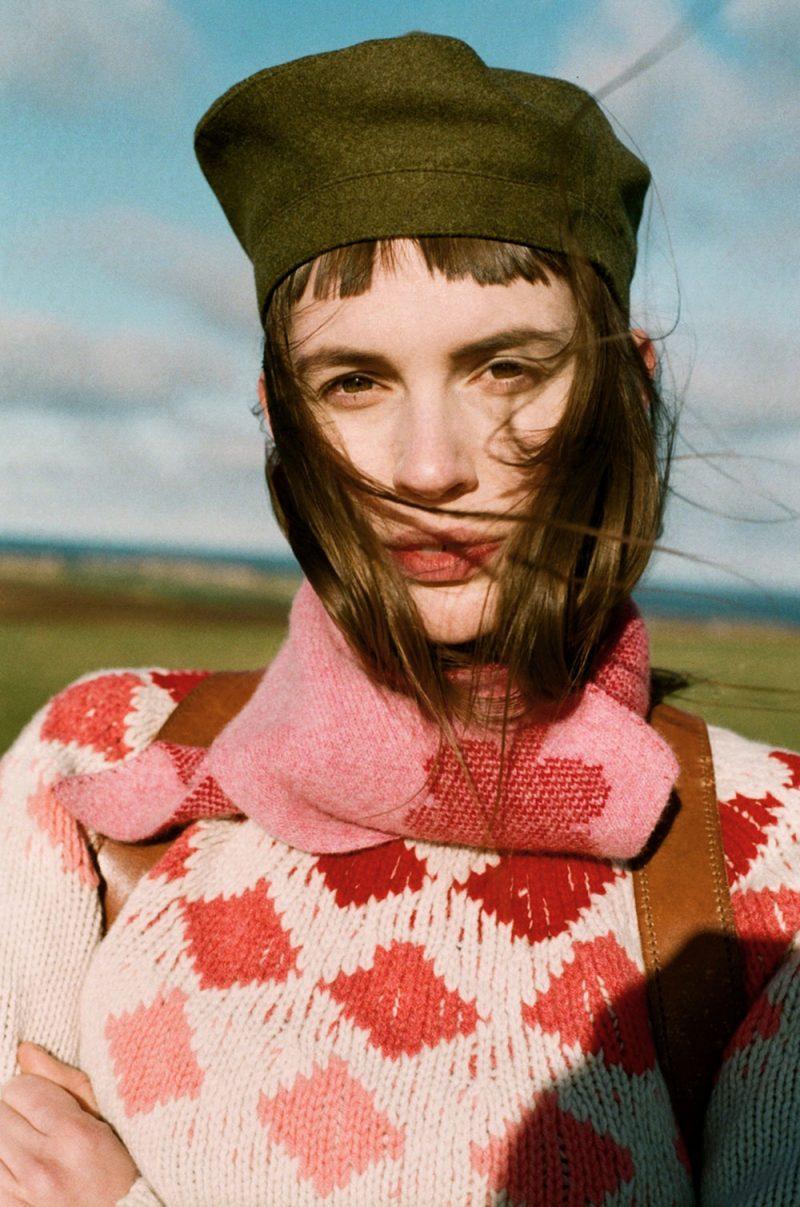 Donna Wilson - Harlequin Sweater - Red