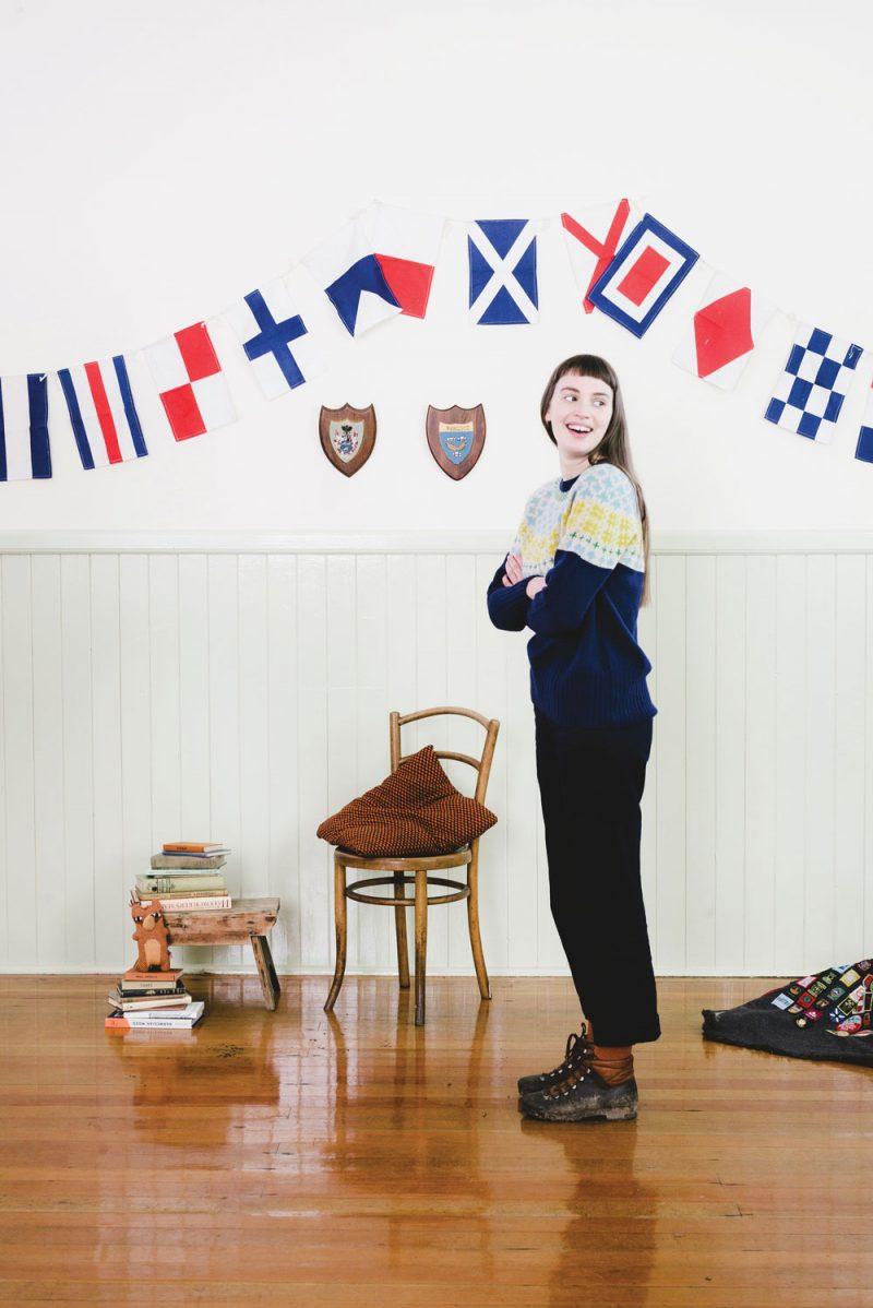 Donna Wilson - Nos Da Sweater - Navy