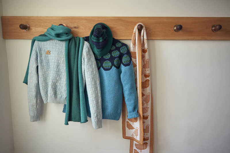 Donna Wilson AW20 - Basket Weave & Garland Sweaters