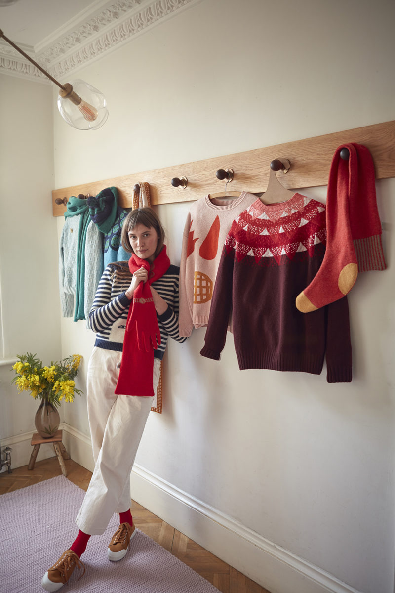 Pick 'n' Mix Sweater - Petal - Donna Wilson
