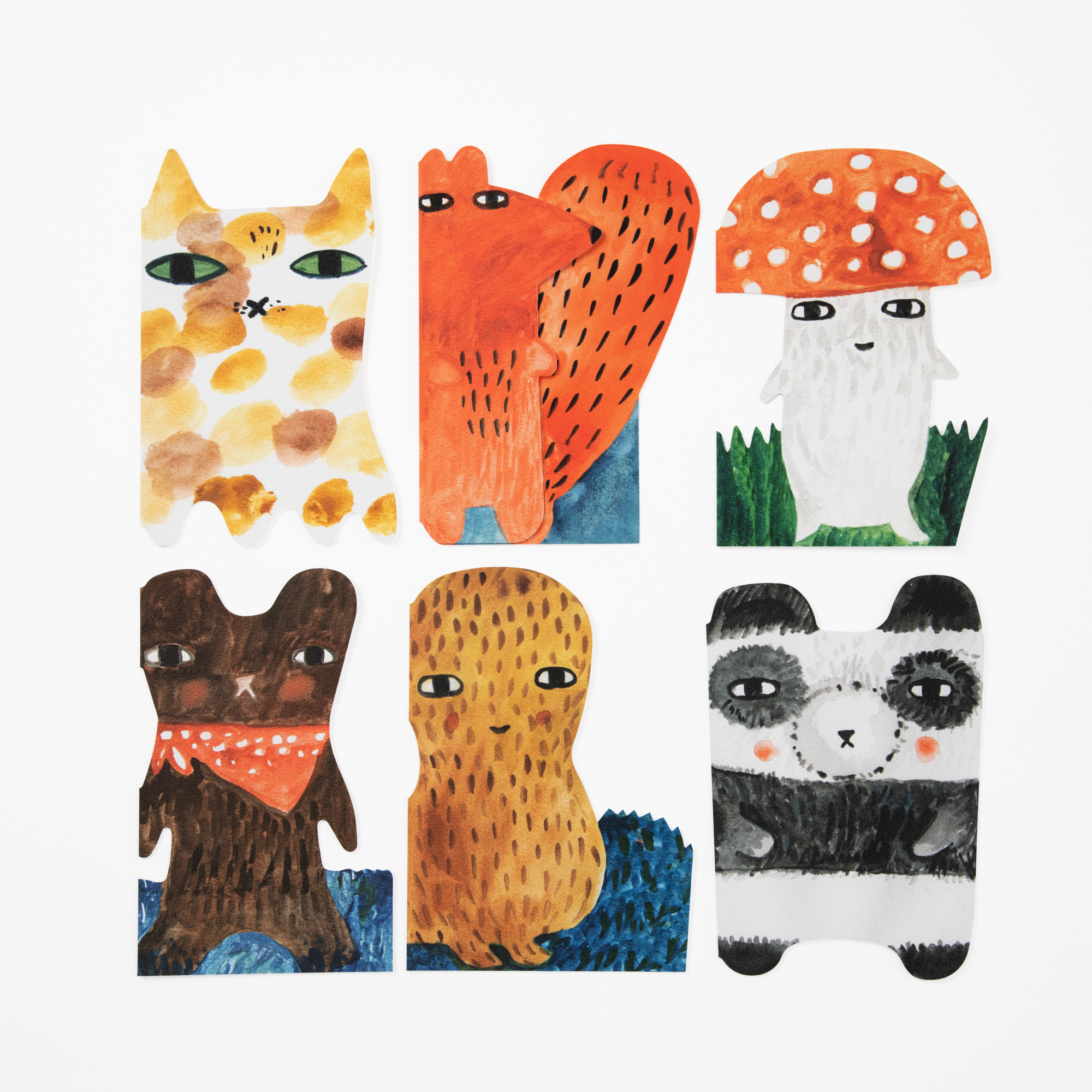 14c81f06349f Critter Notecards - Set of 12 - Donna Wilson