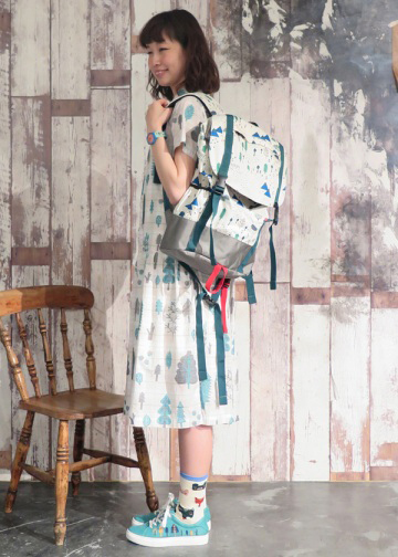 Donna Wilson Mountain Home Backpack Off White