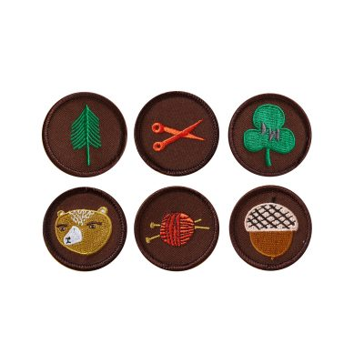 Donna Wilson - Club House Iron-on Patches