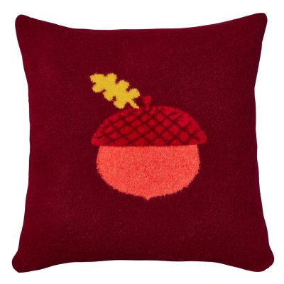 Donna Wilson - Acorn Cushion - Burgundy