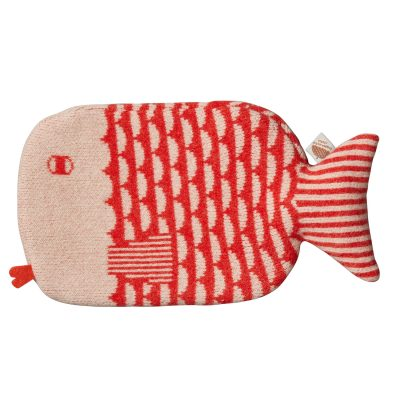 Donna Wilson - Fish Hot Water Bottle - Orange