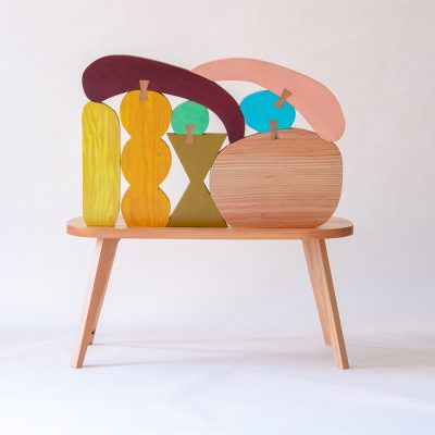 Abstract Assembly - Bench - Donna Wilson