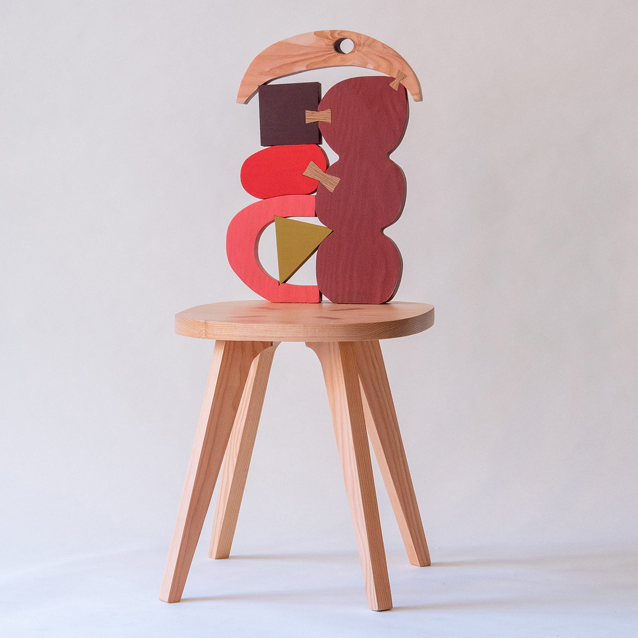 Abstract Assembly - chair no 1 - Donna Wilson
