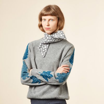 Donna Wilson - Mushroom Neck Warmer - Grey