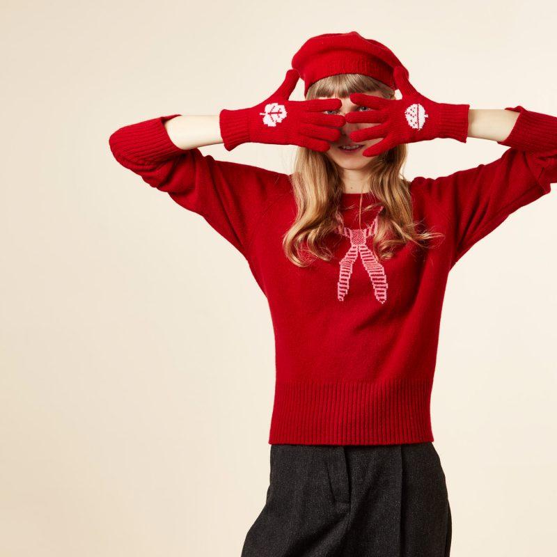 Donna Wilson - Acorn Gloves - Red