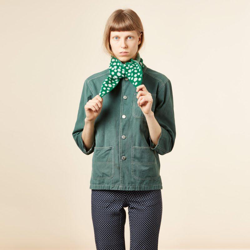 Donna Wilson - Mushroom Neck Warmer - Green