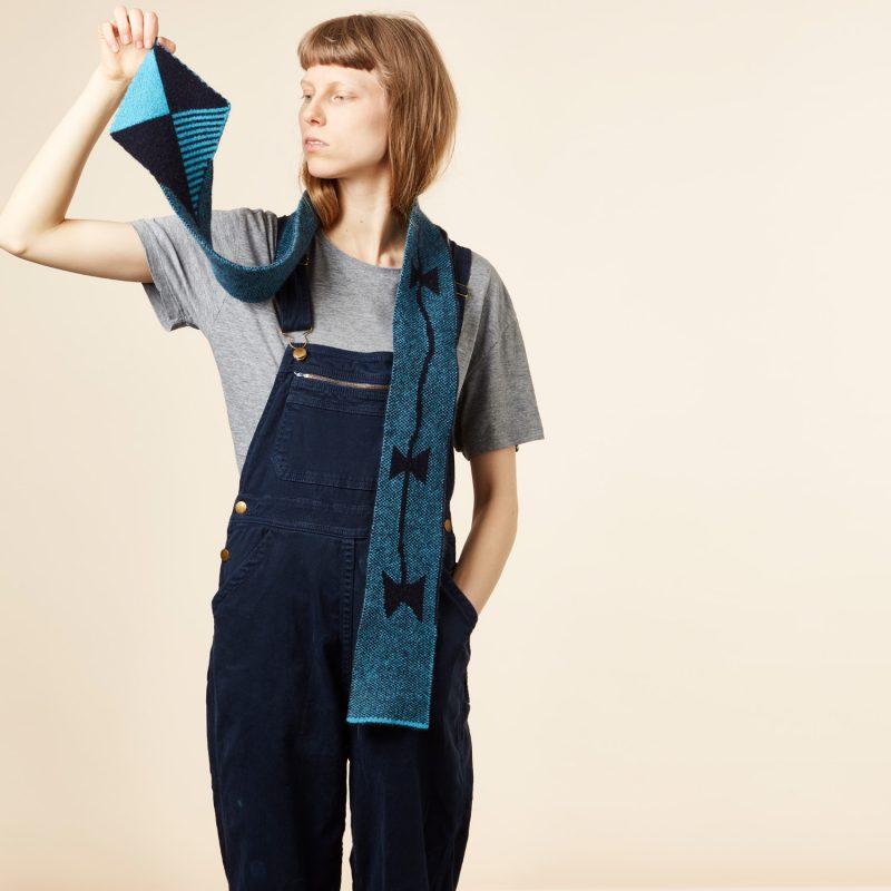 Donna Wilson - Kite Scarf - Blue