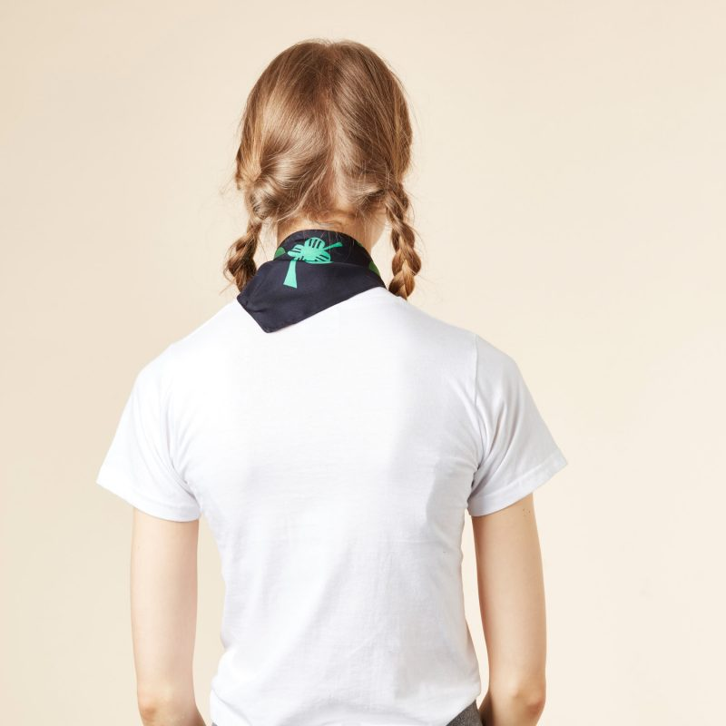 Donna Wilson - Clover Silk Scarf - Turquoise