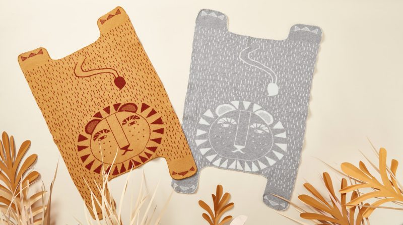 Donna Wilson - Lion Shaped Mini Blankets