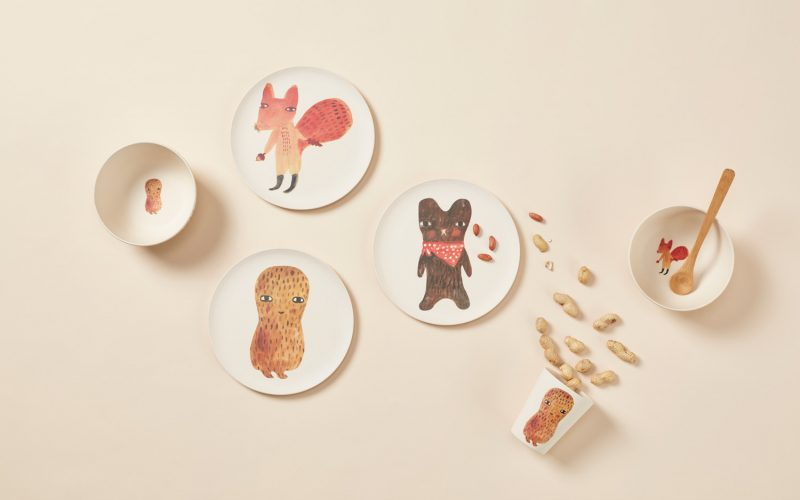 Donna Wilson - Bamboo Fibre Tableware