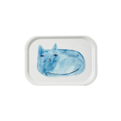 Blue Cat Mini Tray - Donna Wilson
