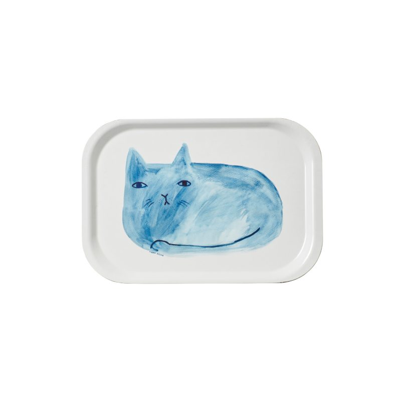 Blue Cat Mini Tray - Donna Wilson