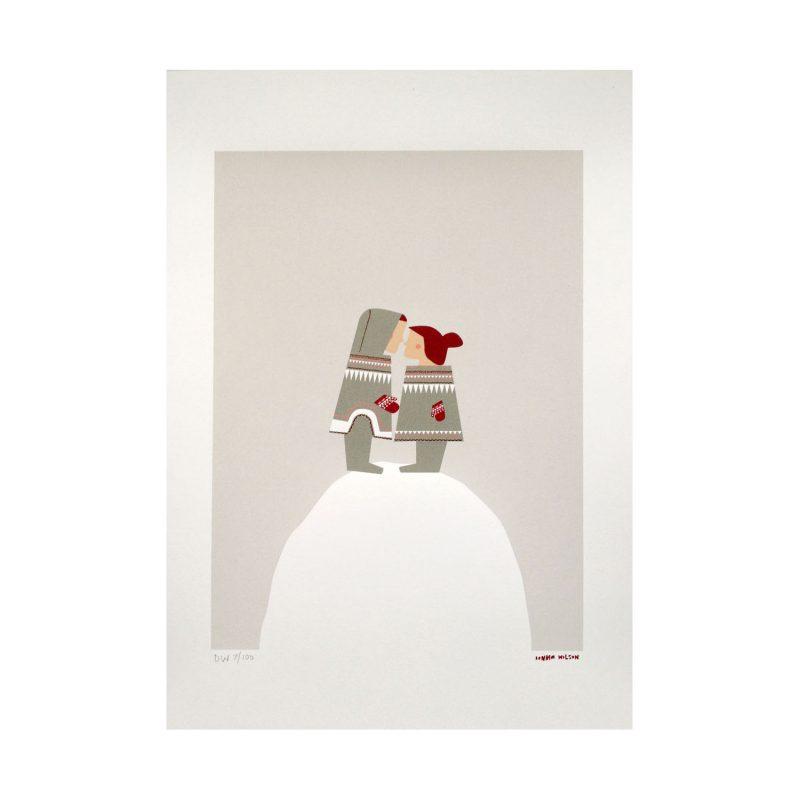 Donna Wilson - Eskimo Kiss Print