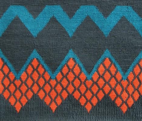 Fairisle-rug-in-peacock-orange-by-Donna-Wilson-SCP-468x400