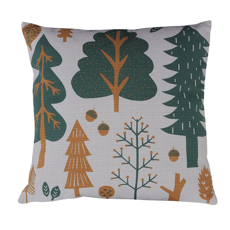 Donna Wilson Forest Cushion Grey Front