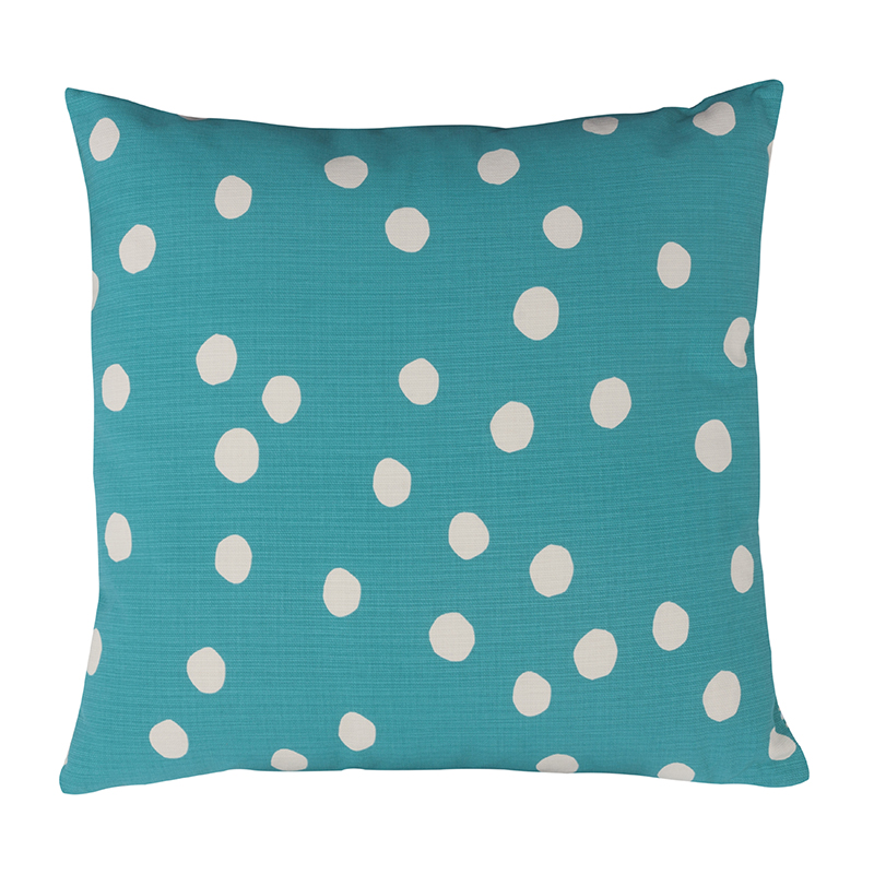 Donna Wilson Forest Cushion Turquoise Back