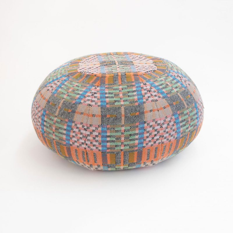 Donna Wilson for SCP - Crovie Pouffe - Pink Sky