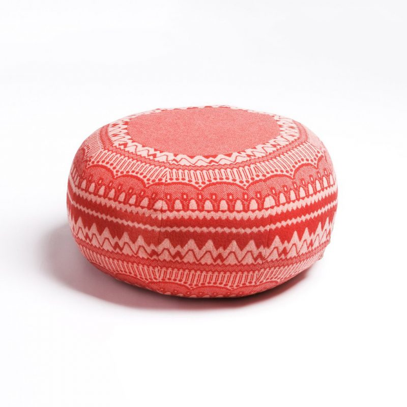 Donna Wilson - Frank Pouffe - ZigZag - Red
