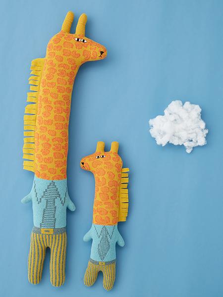 Gerry and Joey Giraffe - Donna Wilson