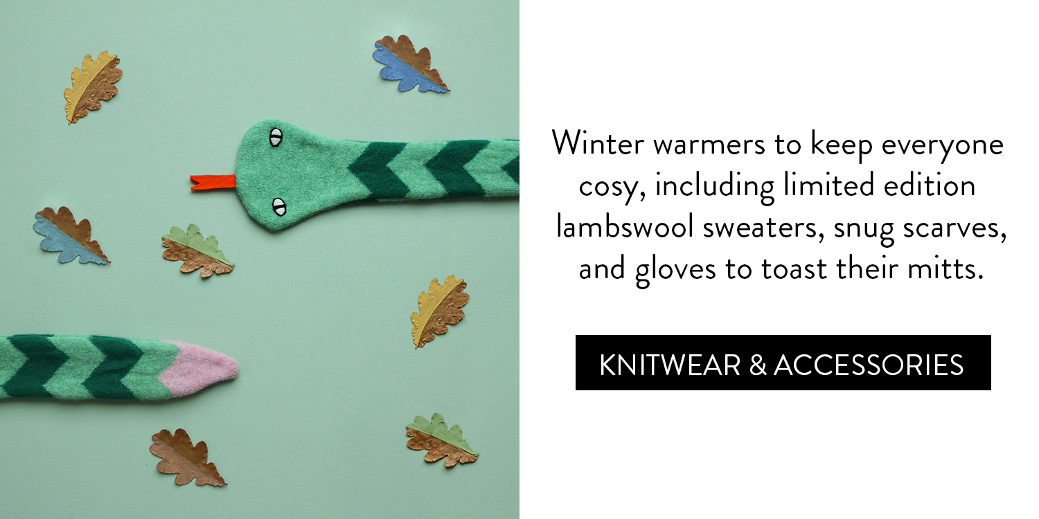 A Cosy Little Gift Guide - Knitwear & Accessories