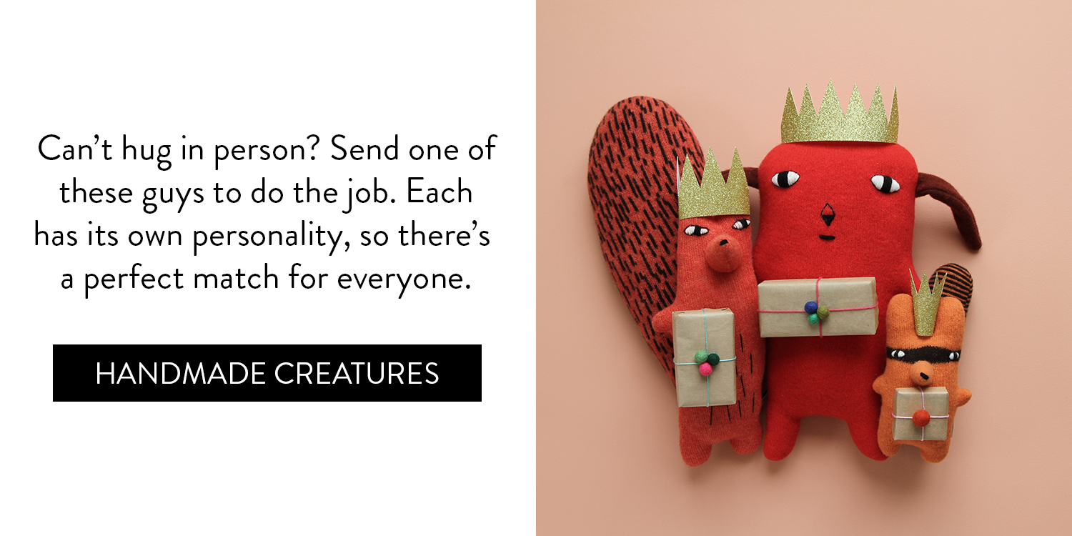 A Cosy Little Gift Guide - Handmade Creatures