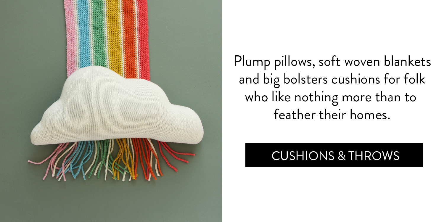 A Cosy Little Gift Guide - Cushions & Throws