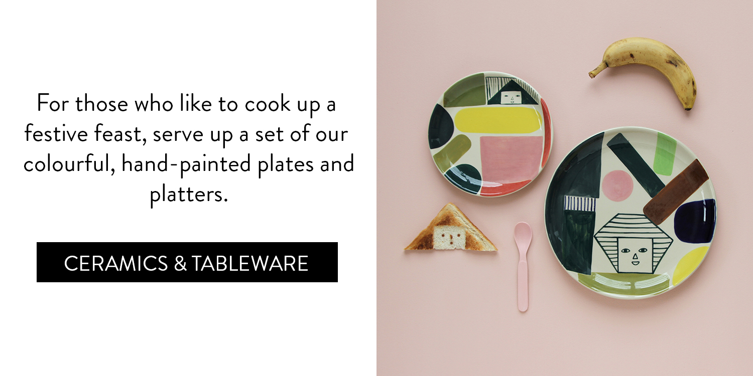 A Cosy Little Gift Guide - Ceramics & Tableware