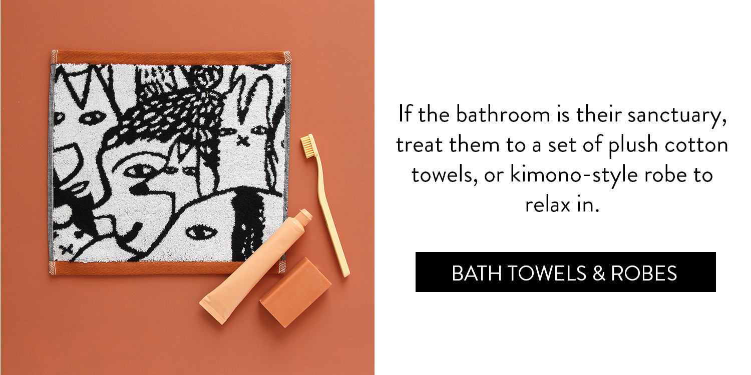 A Cosy Little Gift Guide - Bath Towels & Robes